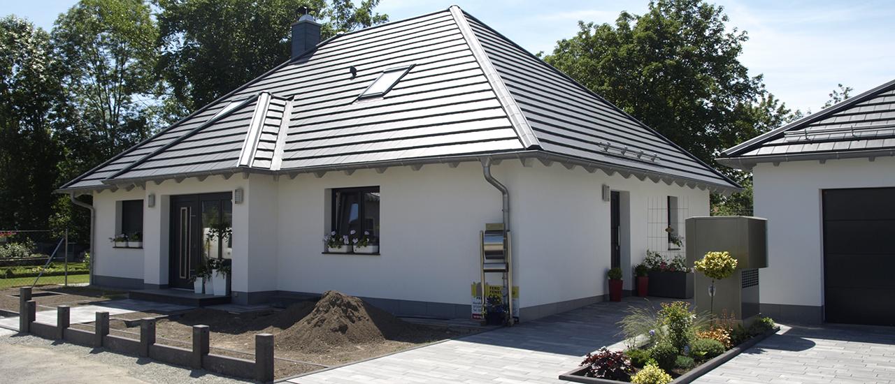 Bungalow mit Ausbaureserve im Dachgeschoss